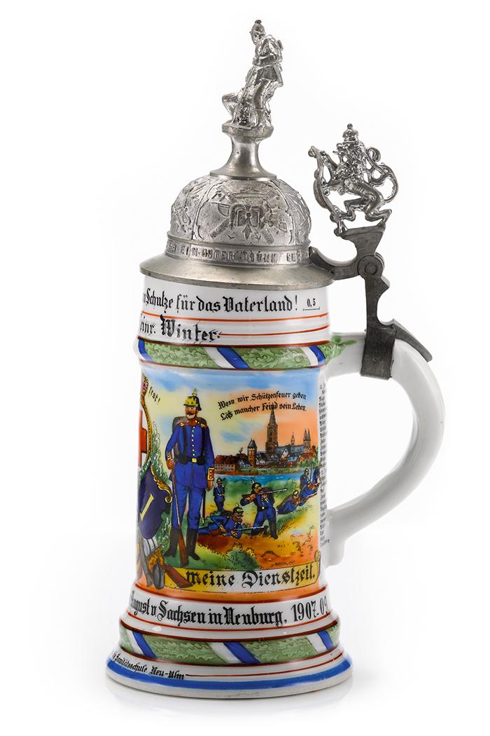 5. Cp. 15. Bayr. Inf. Regt. König Friedrich August von Sachsen in Neuburg