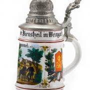 9. Comp. Inf. Regt. Kaiser Wilhelm König von Preußen 2 Württ. Nr. 120 Weingarten –5