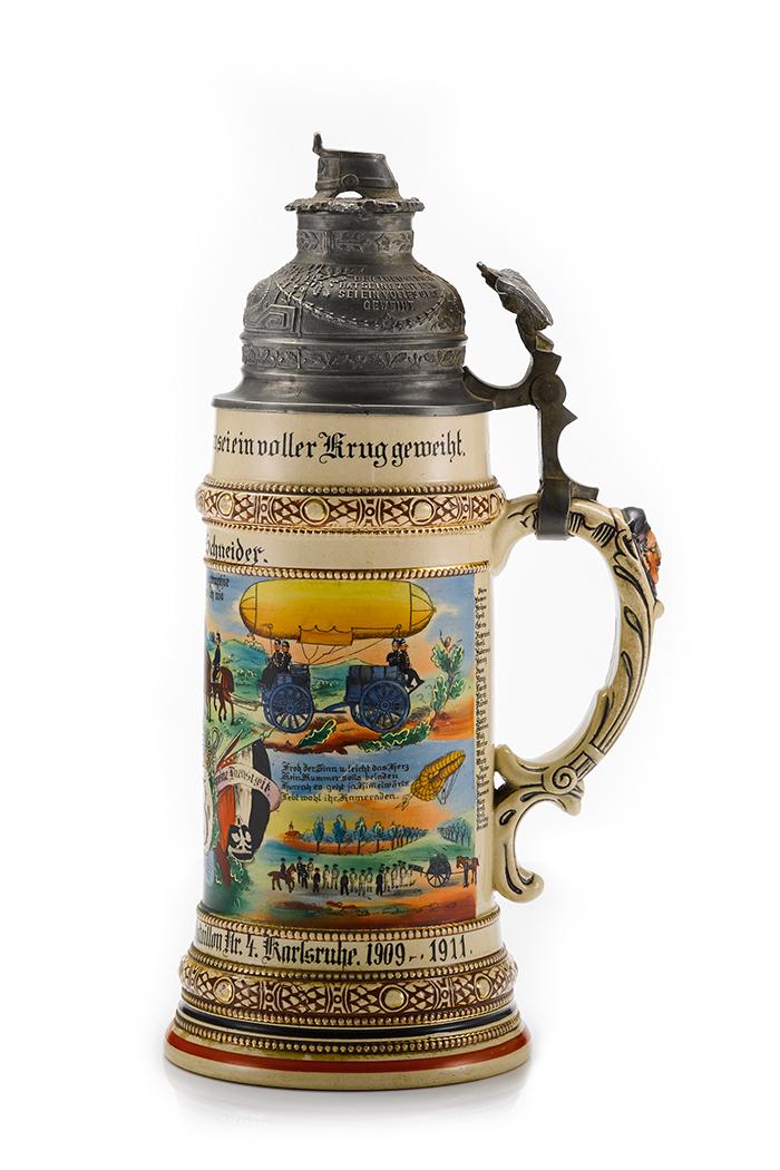 Funkenabteilung Telegraphenbataillon Nr. 4 Karlsruhe Schneider