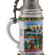 Telegrafen–Zug d. kaiserl. Marine 2. kaiserl. Seebatl. Wilhelmshafen –3